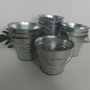 "10 4"" Galvanized bucket with Handle"